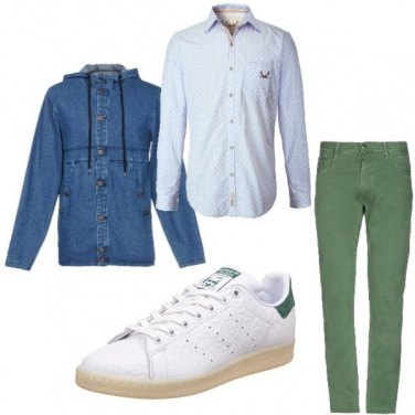 finest selection 01fd6 4bbeb Outfit Green style