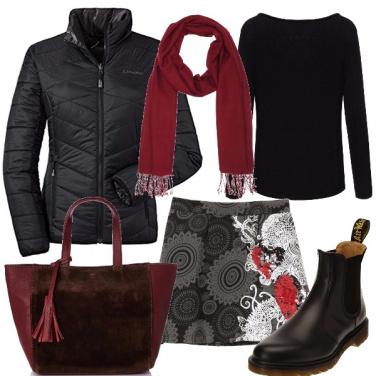 Outfit Rintocchi di rosso