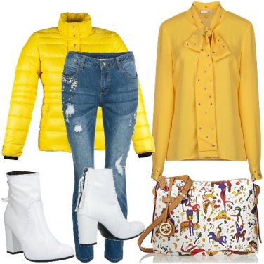 Outfit Yellow clown