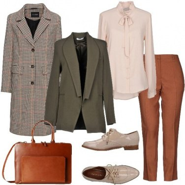 Outfit Mannish d\'autunno
