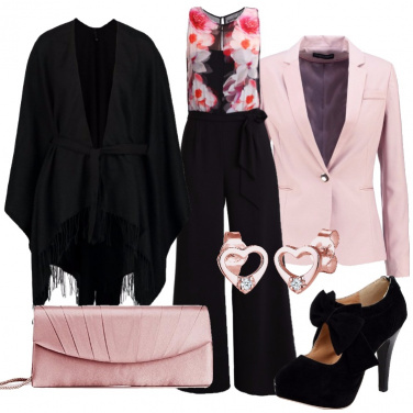 Outfit Romantica in jumpsuit
