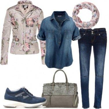 Outfit La camicia di jeans