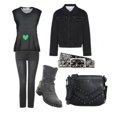 Outfit Cuoricino verde
