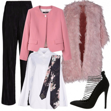 Outfit Cerimonia con carattere