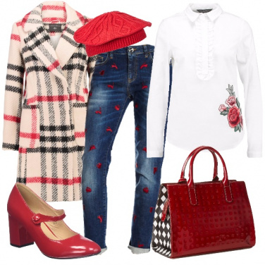 Outfit Romantico denim