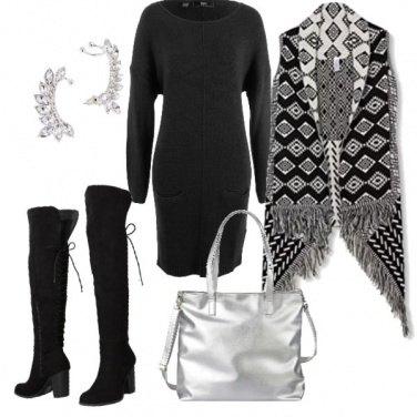 Outfit Lana e nero