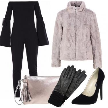 Outfit Pellicciotto romantico