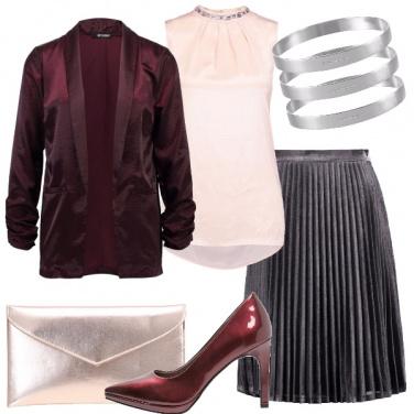 Outfit Capodanno delicato