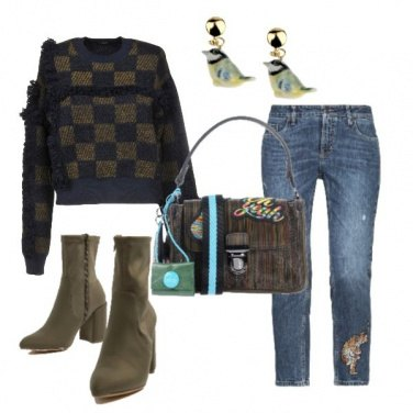 Outfit Tigre sui jeans