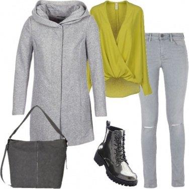 Outfit Colori nel grigio