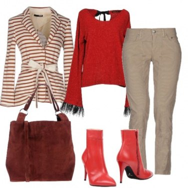 Outfit Stare sulle righe