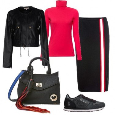 Outfit Sporty glamour