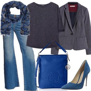 Outfit Jeans e blazer
