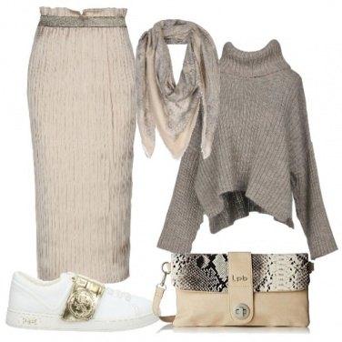 Outfit Come puoi indossare la gonna lunga