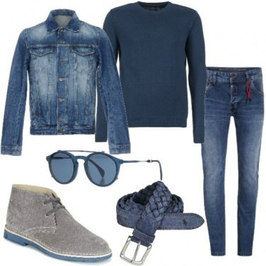 Outfit La giacca jeans