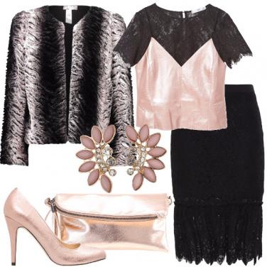 Outfit Rosa a Capodanno