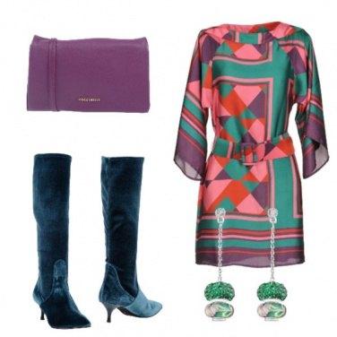 Outfit Orecchini verdi