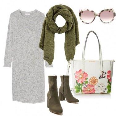 Outfit Abito grigio