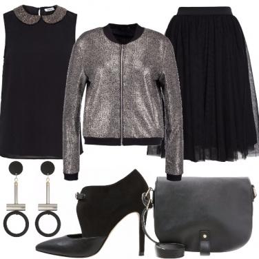 Outfit Lustrini e paillettes senza esagerare