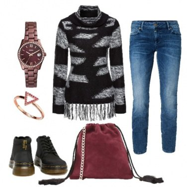 Outfit Frange a spasso