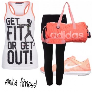 Outfit Amica fitness style!