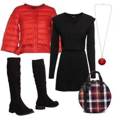 Outfit Borsa a quadri