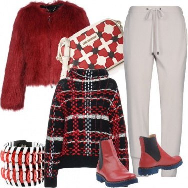 Outfit Week end comodo&caldo