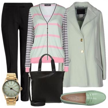 Outfit Latte e menta