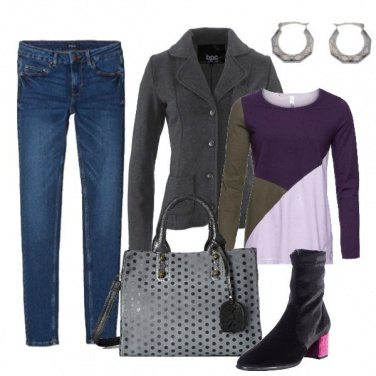 Outfit Casual jeans e giacca
