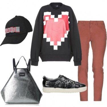 Outfit Il cuore grande