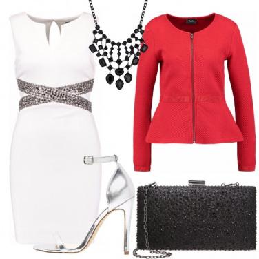 Outfit Scintille rosse di Capodanno