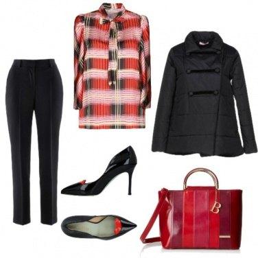 Outfit Le rouge et le noir