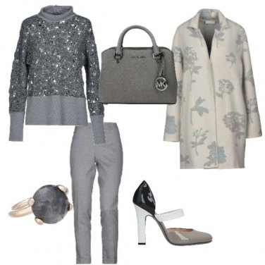 Outfit Silver forever