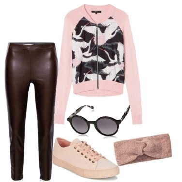 Outfit Fashion Pink con fenicotteri