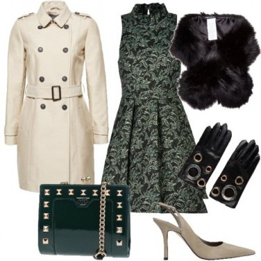 Outfit Chic anche con il Trench