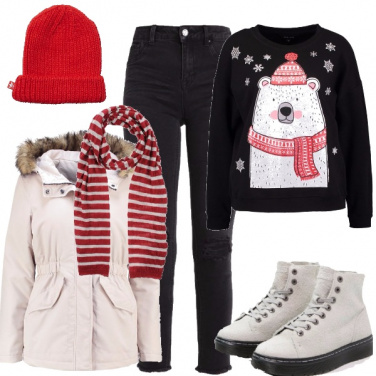 Outfit Natale urban