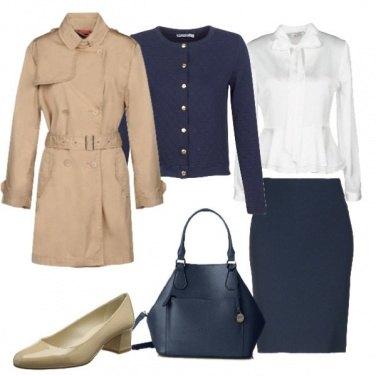 Outfit Perfetta con il trench