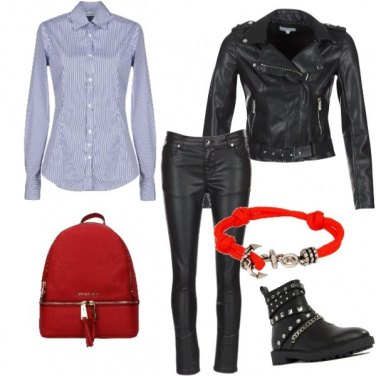 Outfit Rosso rosso