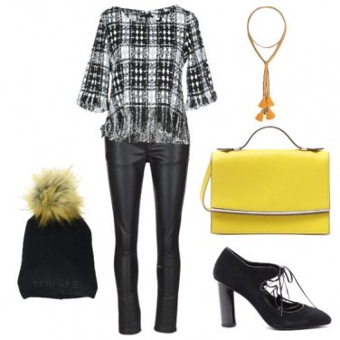 Outfit Tartan in autunno