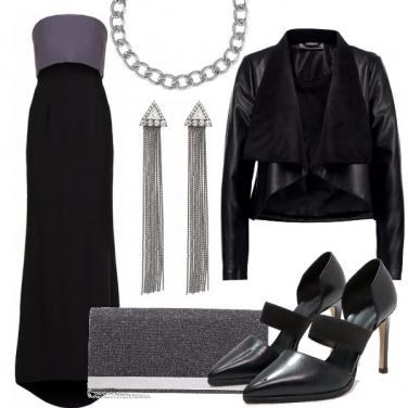 Outfit Elegante e rock