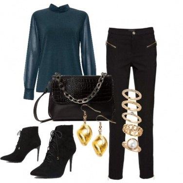 Outfit Aperitivo col tacco