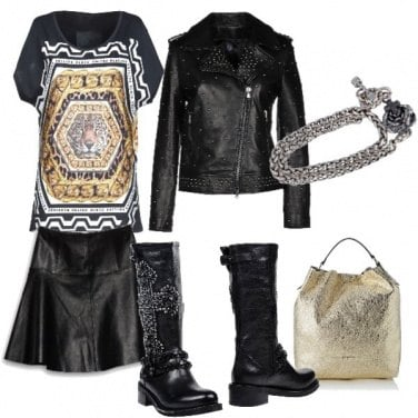 Outfit Molto rock