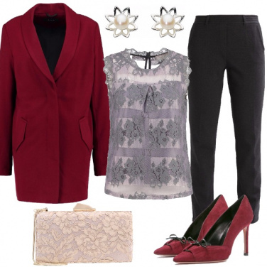 Outfit Romanticamente chic