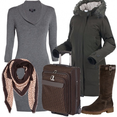 Outfit In viaggio verso casa