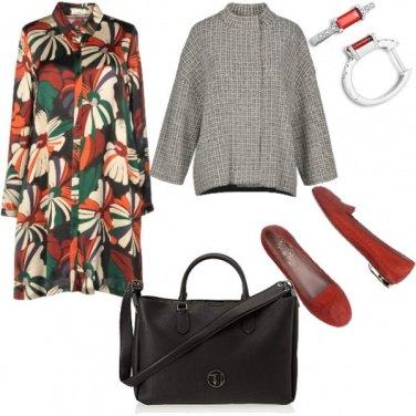 Outfit Bon Ton, autunno con colore