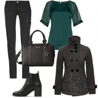 Outfit Tacco largo