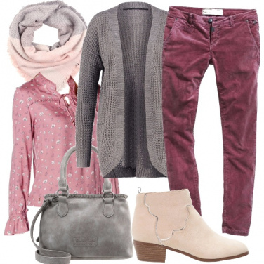 Outfit Romantica blusa