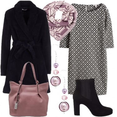Outfit Rosa malva