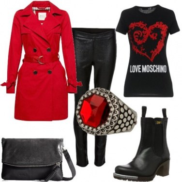Outfit Trench rock