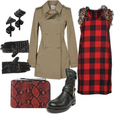 Outfit Quadri e Rock metropolitano